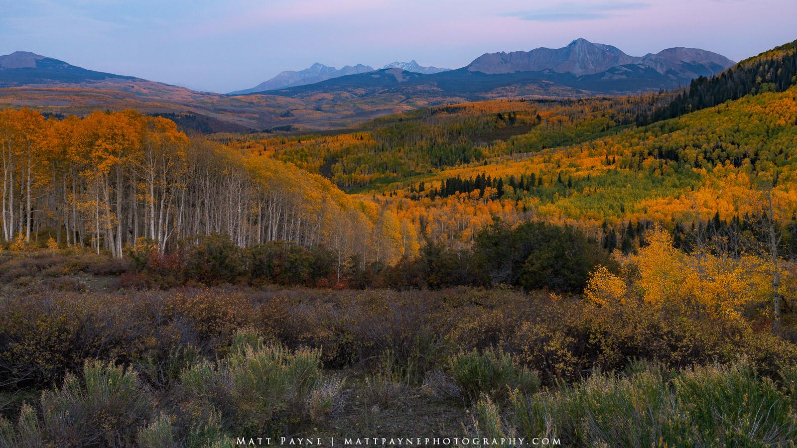 14er, Aspen Trees, Autumn, Colorado, El Diente, Fall, Fall Colors, Foliage, Landscape, Mountains, San Juan Mountains, Wilson Peak, colorful, landscape photography, photo
