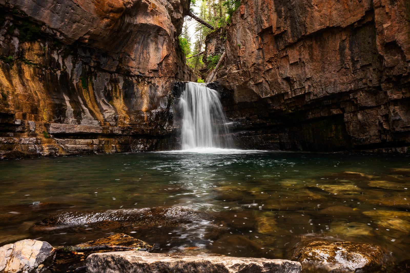 Cascade Creek, Colorado, Durango, Waterfall, photo