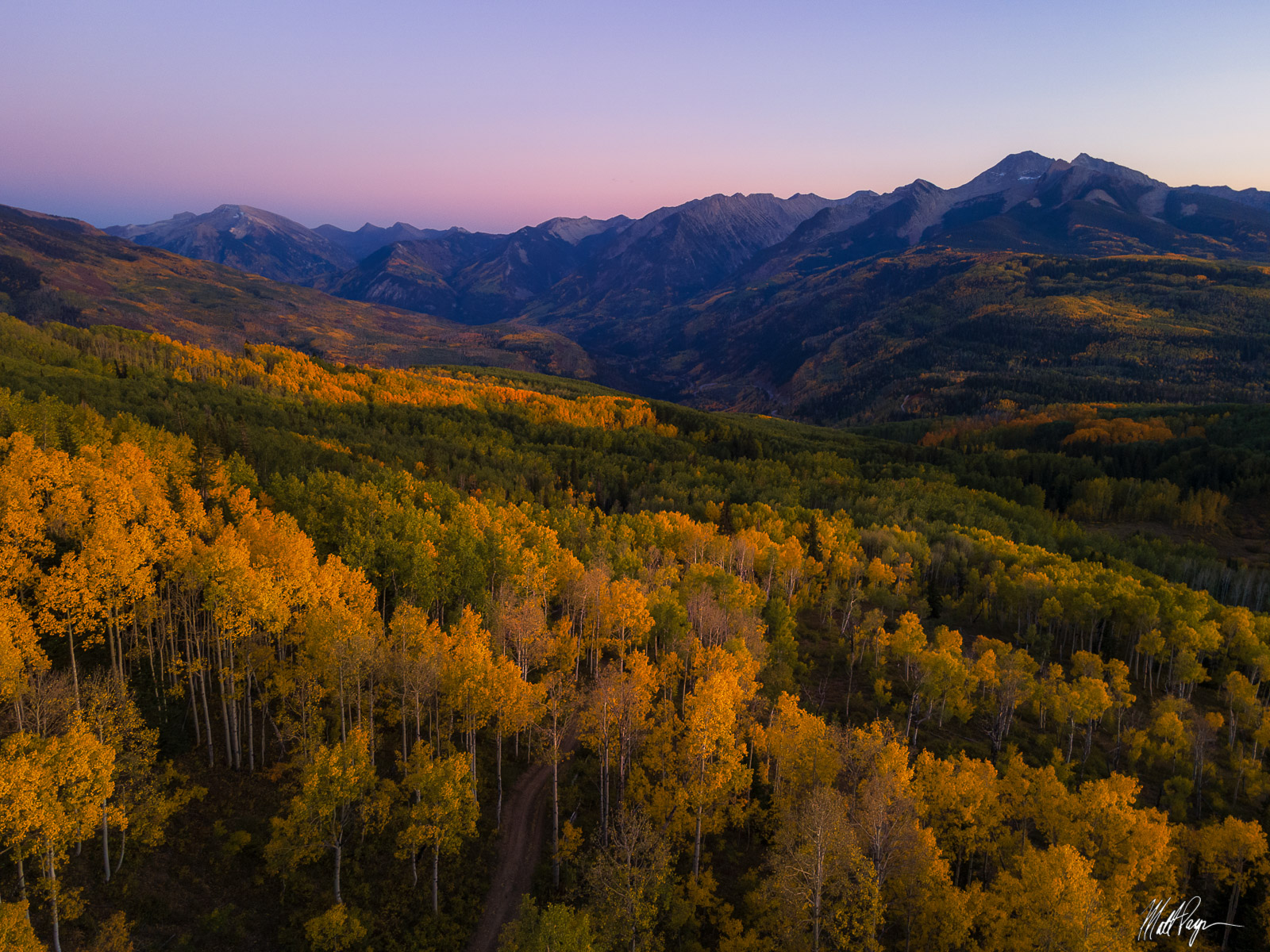 After a peaceful hike through changing aspen trees in this beautiful forest near Carbondale, Colorado, I enjoyed the serenity...