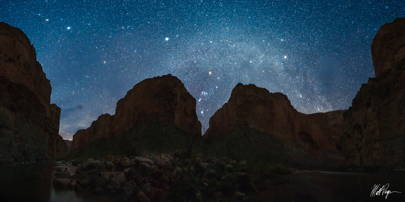 Grand Canyon National Park, Arizona, Colorado River, Darkness, Grand Canyon, Lower Saddle Campsite, Night, Nightscape, Orion's Belt, Rafting, photo