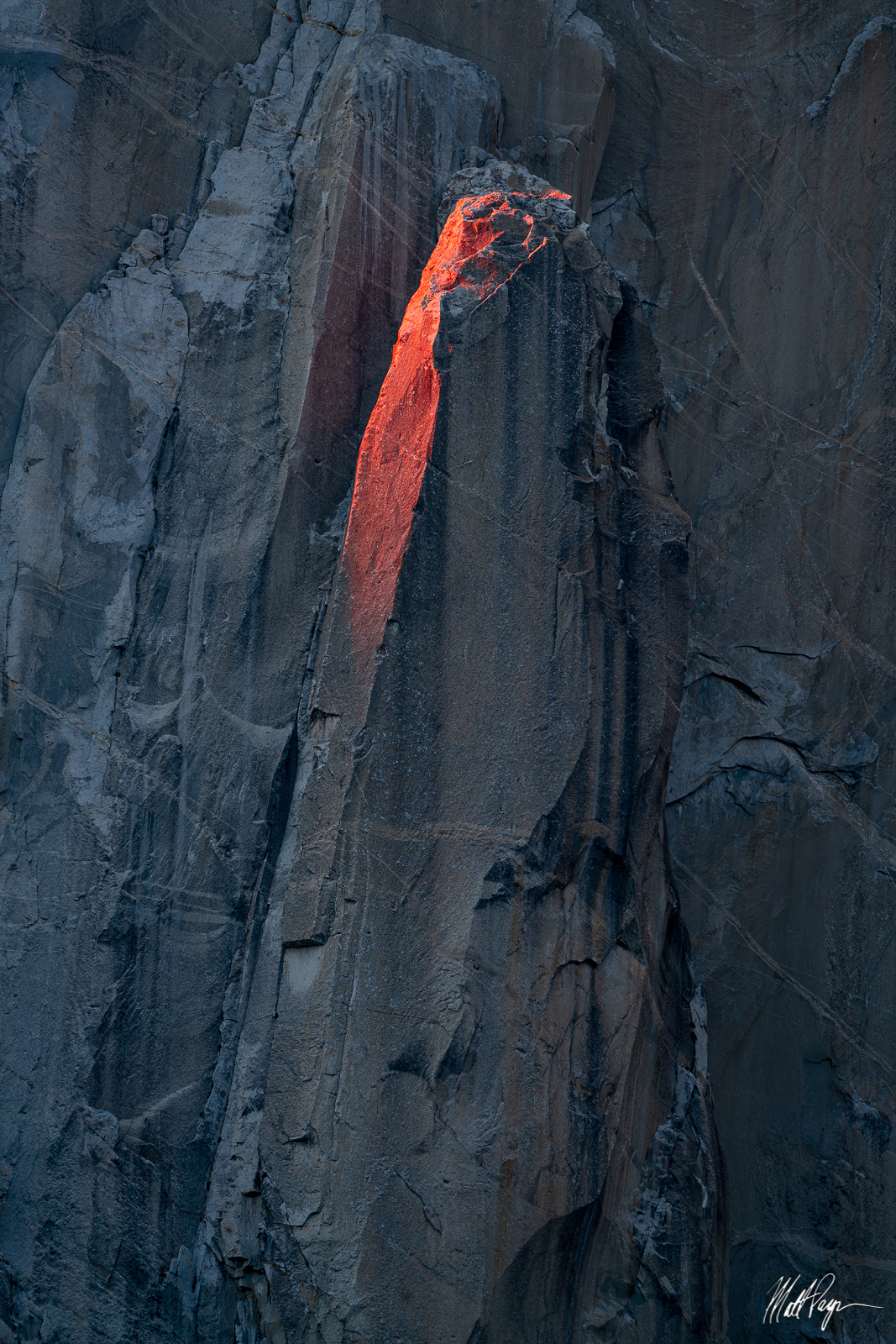 El Capitan, Light, Winter, Yosemite National Park, granite, photo