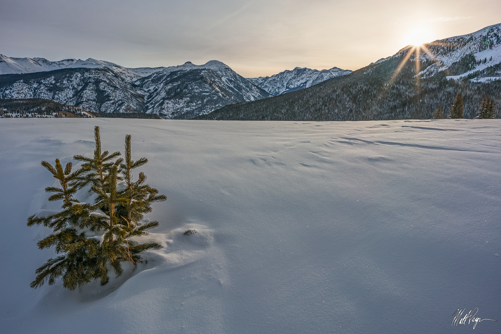 Cold, Colorado, Durango, Landscape, Molas Pass, Mountains, San Juan Mountains, Silverton, Snow, Subzero, Sunrise, Sunstar, Winter, morning, Landscape Photography, photo