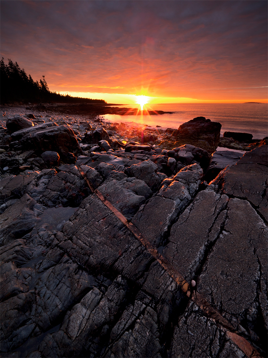 Acadia National Park, East Coast, Maine, National Park Service, Ocean, coast, coastline, daybreak, happiness, hope, landscape, low tide, morning, national park, natural, nature, northeast, outdoors, o, photo