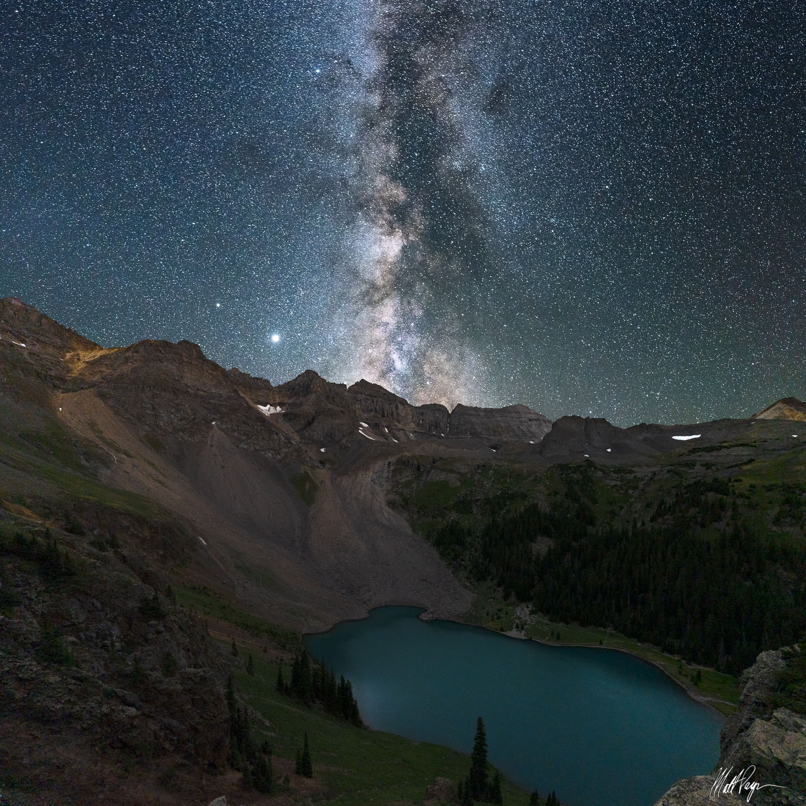 On a 3-day backpacking trip in the summer of 2020, I wanted to get a photograph of the Milky Way directly above Blue Lake and...