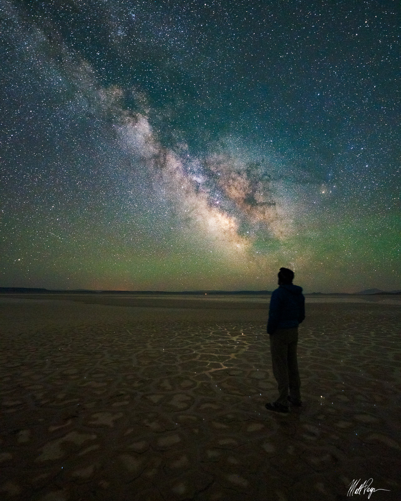 It was an absolute joy to meet Ben Canales and photograph the night skies with him on the Oregon desert. This self-portrait underneath...