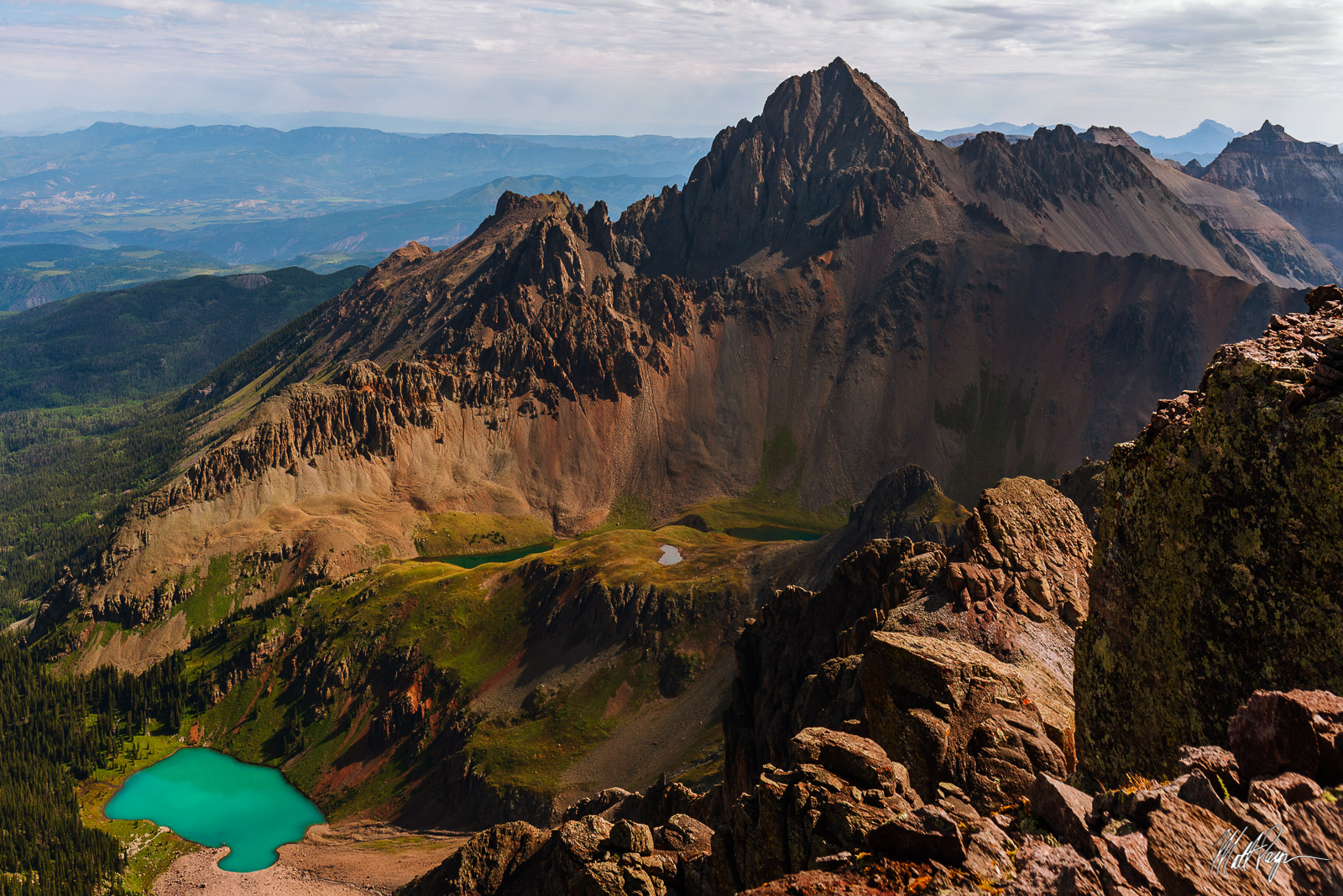 13er, 14er, Blue Lakes, Colorado, Dallas Peak, Landscape, Mount Sneffels, Mountains, San Juan Mountains, unique, photo