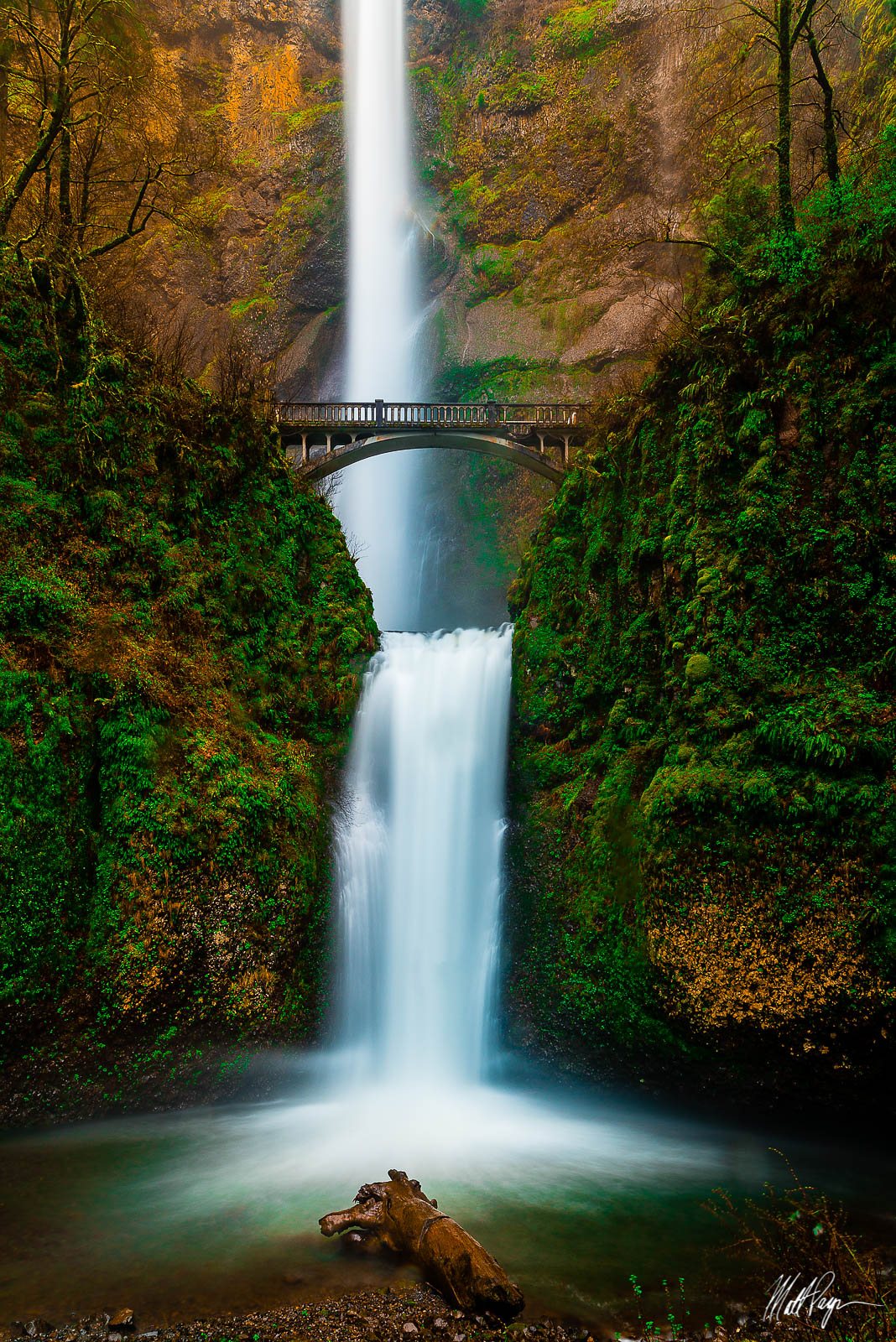 Landscape, Long Exposure, Multnomah Falls, Oregon, Pacific Northwest, Portland, Portland Oregon, Water, Waterfall, iconic, photo