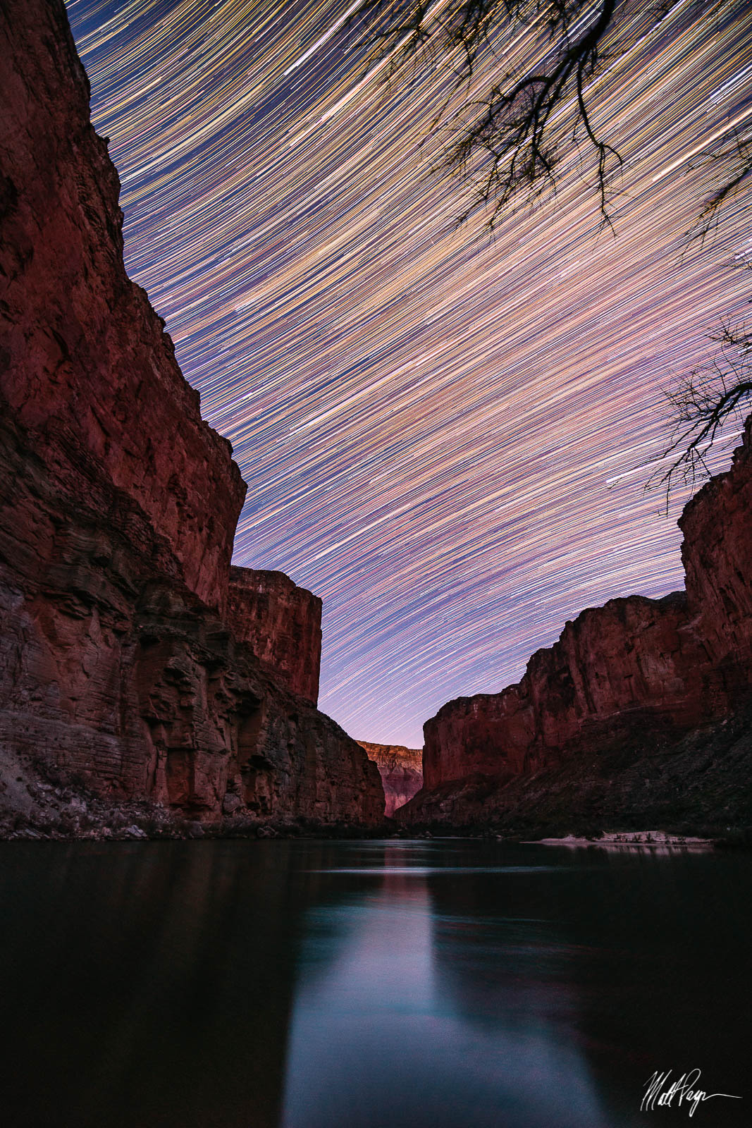 Arizona, Colorado River, Grand Canyon, Landscape, Long Exposure, Night, Rafting, Star Trails, Stars, Wonders, photo