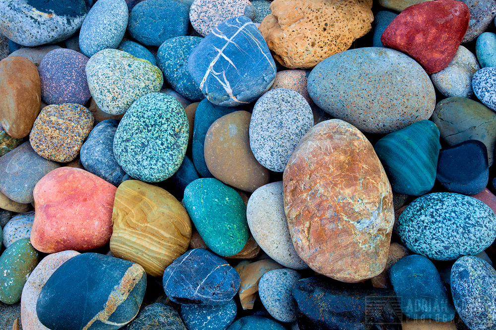 shi shi, beach, rock candy, colorful, assortment, smooth, round, washington, adrian, klein, backpacking, summer, intimate, olympic national park, sand, photo