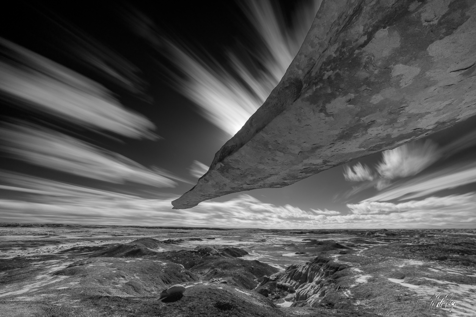 Bisti Badlands, Clouds, King of Wings, Landscape, Long Exposure, New Mexico, desert, photo