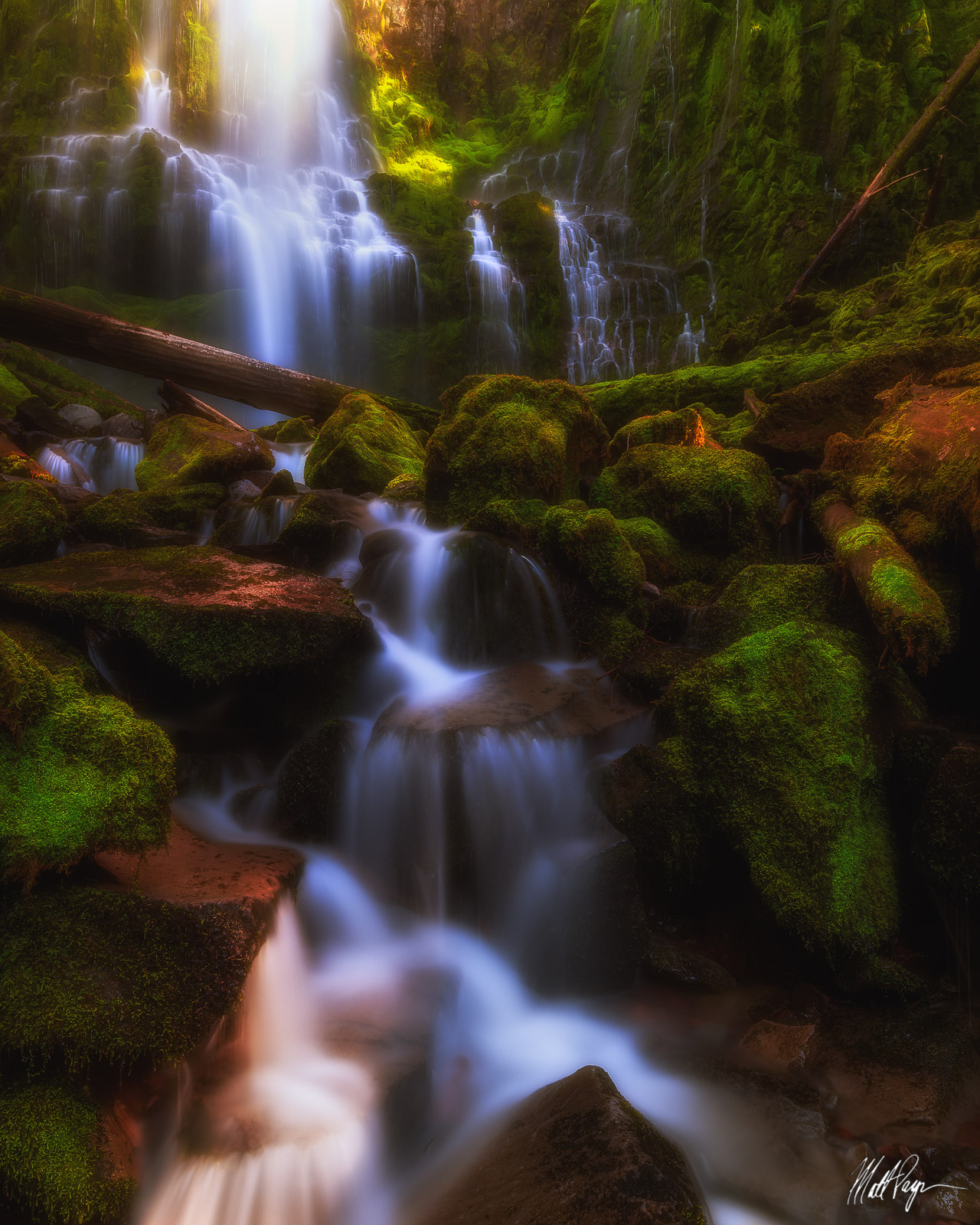 Central Oregon, Landscape, Long Exposure, McKenzie River, Nature, Oregon, Pacific Northwest, Proxy Falls, Surreal, Water, Waterfalls, moss, rocks, nature, Bend, photo