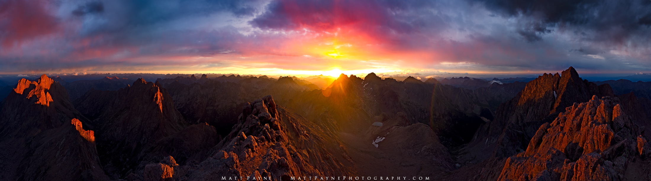 14er, 14ers, Vestal Peak, Arrow Peak, Chicago Basin, Climbing, Colorado, Durango, Eolus Peak, Epic, Grenadier Range, Landscape, Mountains, Needle Range, sunrise, Windom Peak, Sunlight Peak, Wetterhorn, photo