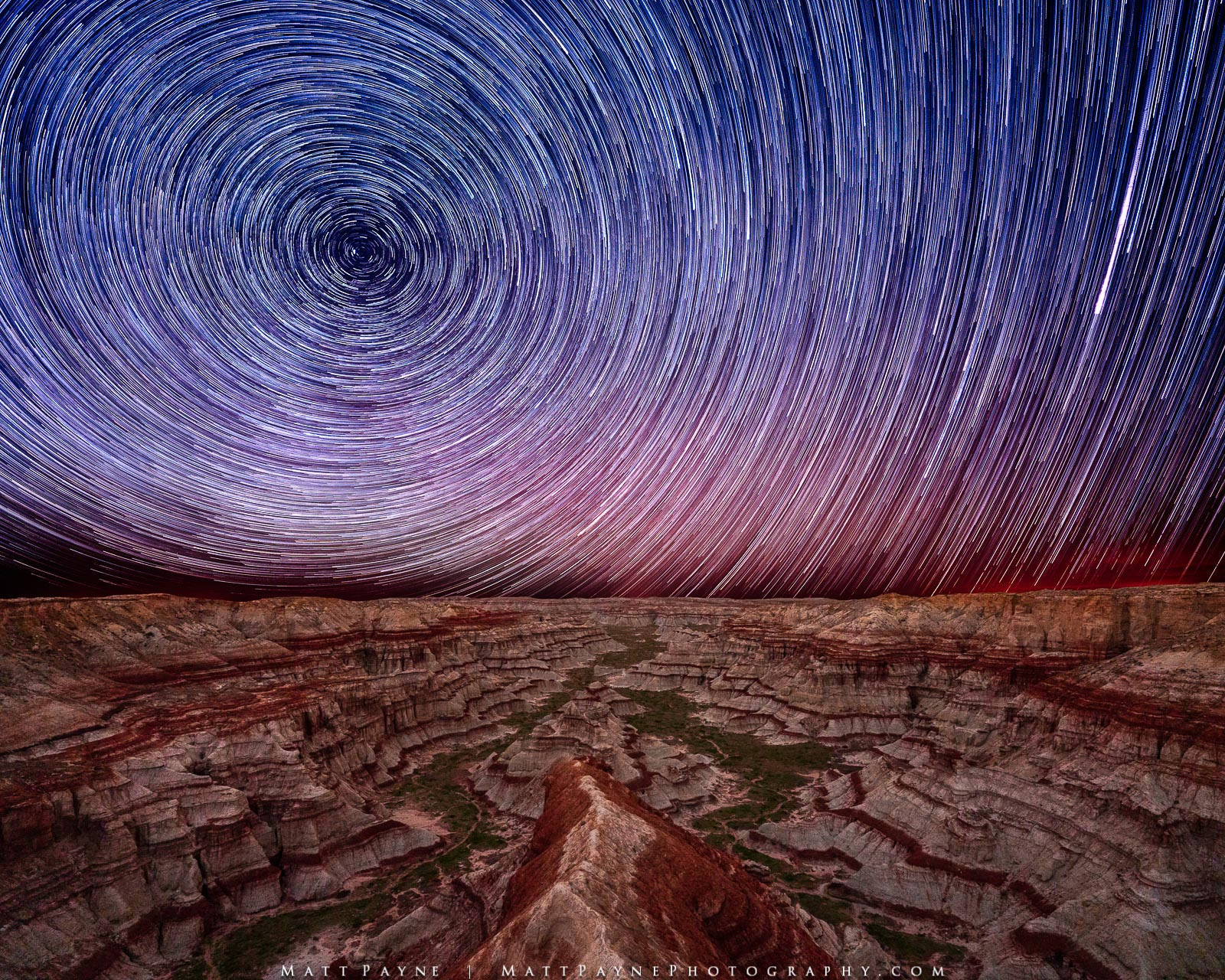 Night, Nightscape, North Star, Polaris, Star Trails, canyon, Desert Southwest, Landscape Photography, photo