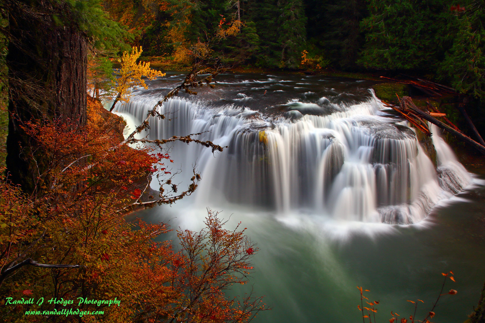 Autumn Color, Autumn Foilage, Cascade Mountains, Cascades, Destination, Fall Color, Fall Foilage, Gifford Pinchot National Forest, Lewis River, Lewis River Falls, Log Jam, Lower Lewis River Falls, Sou, photo